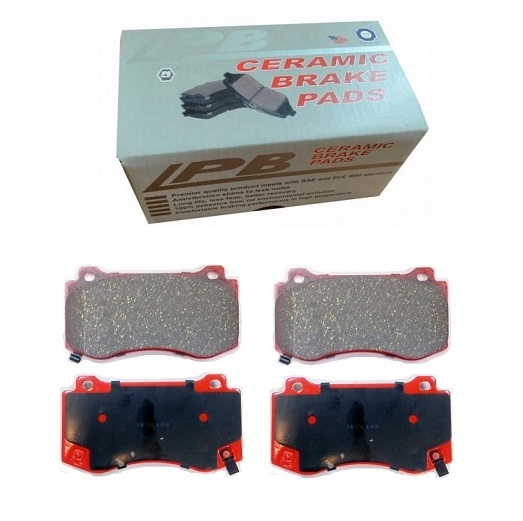 FRONT CERAMIC BRAKE PADS FOR JEEP GRAND CHEROKEE WK WH 2005-2010
