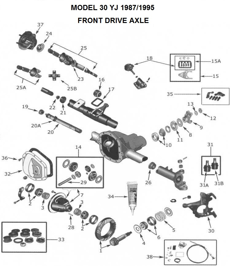 Parts For Jeep